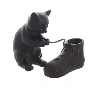 Статуэтка Кошка с башмачком