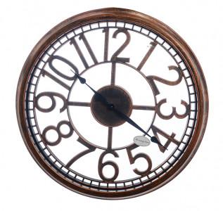 Часы настенные LoftStyle Brown