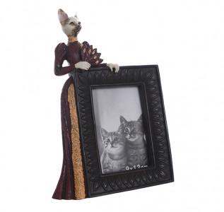 Фоторамка с кошкой Дамское счастье