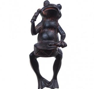 Статуэтка Лягушонок с барабаном