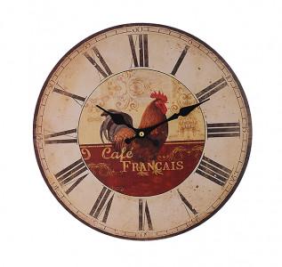 Часы настенные круглые Петух