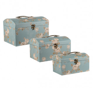 Набор подарочных коробок Голубой цветок