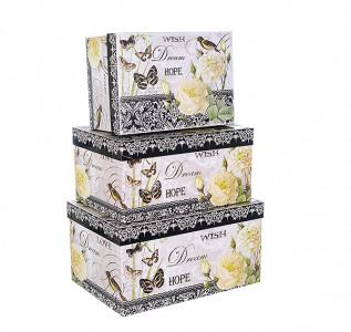 Набор подарочных коробок Роза прованса