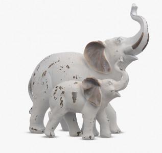 Статуэтка Мама-слон со слоненком