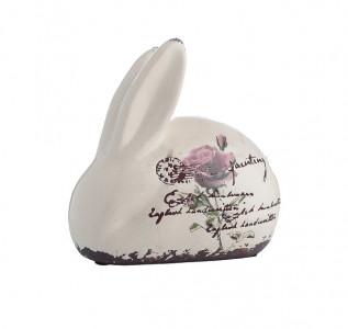 Статуэтка Кролик Роза Винтаж малый