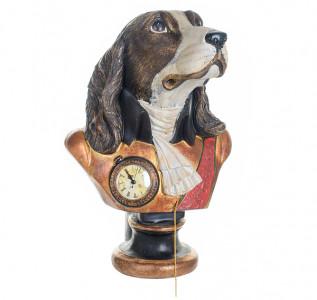 Статуэтка Собака джентельмен с часами