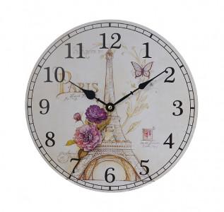 Часы настенные круглые Paris