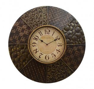 Часы настенные Металлический акцент