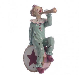 Статуэтка Клоун трубач