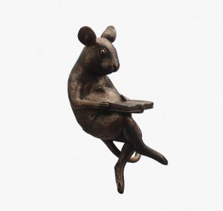 Статуэтка Мышонок читающий