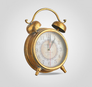 Часы будильник металлические Золотой Век