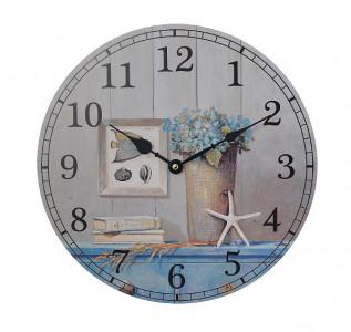 Часы настенные круглые Морской бриз