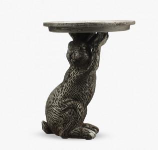 Статуэтка Кролик услужливый с подносом