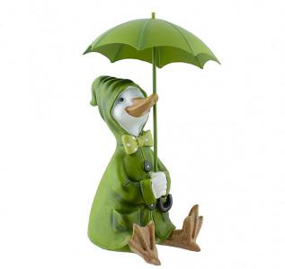Статуэтка Утка под зонтиком