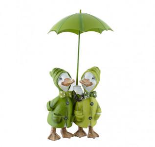 Статуэтка Утки под зонтиком