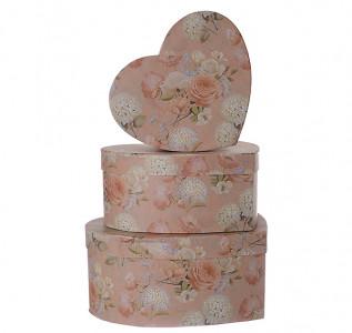 Набор подарочных коробок Нежная роза