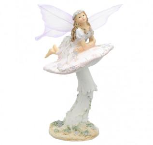Статуэтка Фея Злата на грибочке