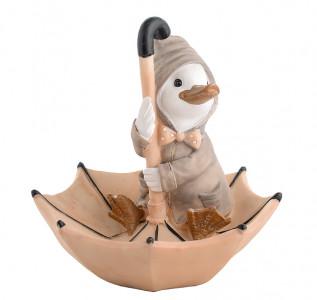 Статуэтка Утка в зонтике