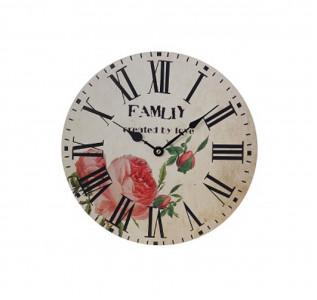 Часы настенные Семейный букет