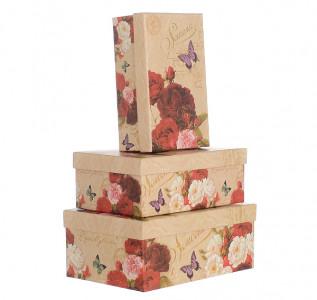 Набор подарочных коробок Роза