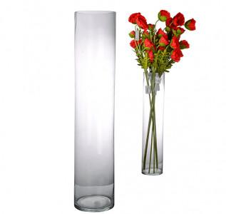 Ваза стеклянная Цилиндр XL