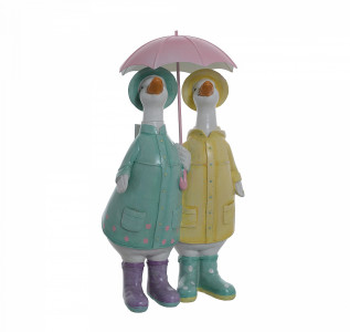 Статуэтка Гуси под зонтиком
