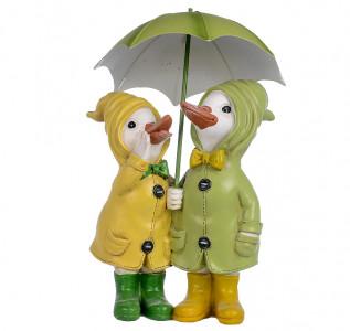 Статуэтка Уточки под зонтом