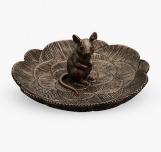 Статуэтка Мышка бонбоньерка