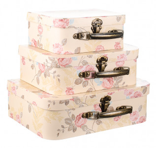 Набор подарочных коробок Ванильный чемоданчик