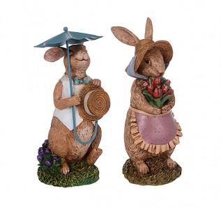 Статуэтка Кролик-кавалер с дамой