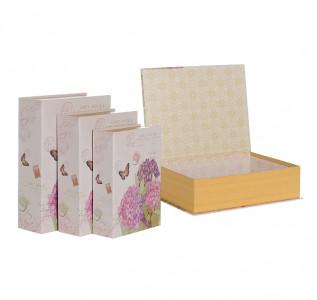 Набор подарочных коробок Гортензия