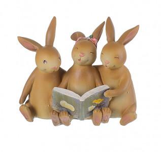 Статуэтка Кролики трио