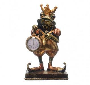 Статуэтка Лягушонок-королевич с часами