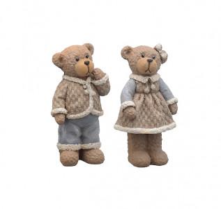Статуэтка Медведи сладкая парочка