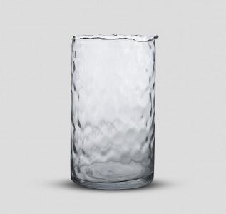 Ваза стеклянная Завораживающий лед средняя