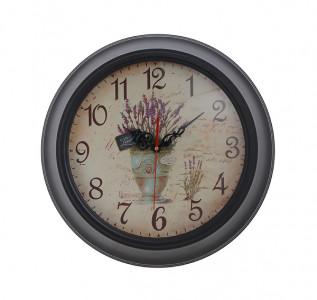 Часы настенные Дикая лаванда