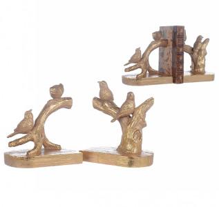 Статуэтка-держатель для книг Птички на ветке