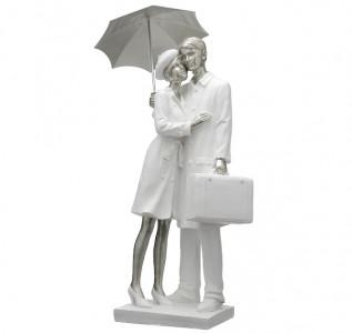 Статуэтка Пара влюбленных под зонтом