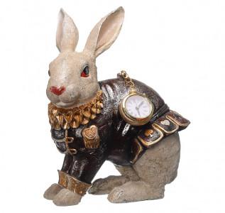 Статуэтка Кролик Роберт с часами
