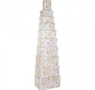 Набор подарочных коробок Цветы прованса L