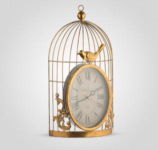 Часы настенные Соловей в золотой клетке