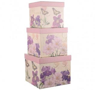 Набор подарочных коробок Фиалковое утро