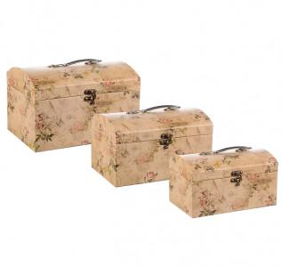 Набор подарочных коробок Песочный сундучок