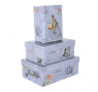 Набор подарочных коробок Птичка
