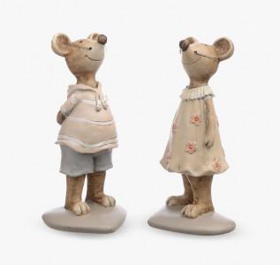 Статуэтка Мышки пара