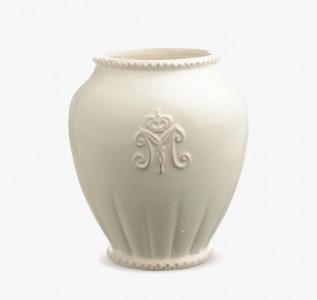 Ваза керамическая Белая нежность малая