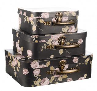 Набор подарочных коробок Черничный чемоданчик