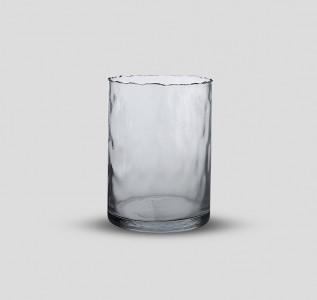 Ваза стеклянная Завораживающий лед малая