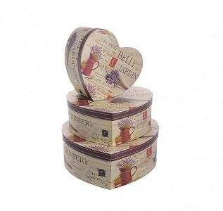Набор подарочных коробок Сердце Бэль флер