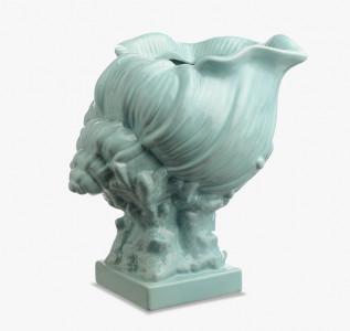 Ваза керамическая Бирюзовая Климения